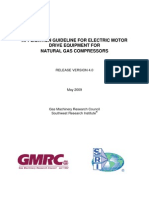 Application Guideline for Electric Motor Drive Equipment for Natural Gas Compressors