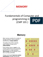 Cmp 101 Set 7 Memory