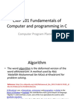 CMP 101 Set 12 Algorithm and Flowcharts