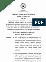 Perpres Nomor 54 Tahun 2007 tentang tunjangan Jabatan Fungsional Dokter dll