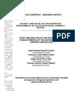 Articulo Ph y Conductividad