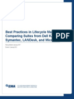Best Practices in Lifecycle Management