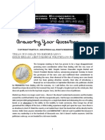 US Treasuries and Gold 08-18-2011