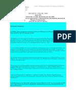 Decreto 1295 de 1994 Organizacion de Riesgos Profesionales
