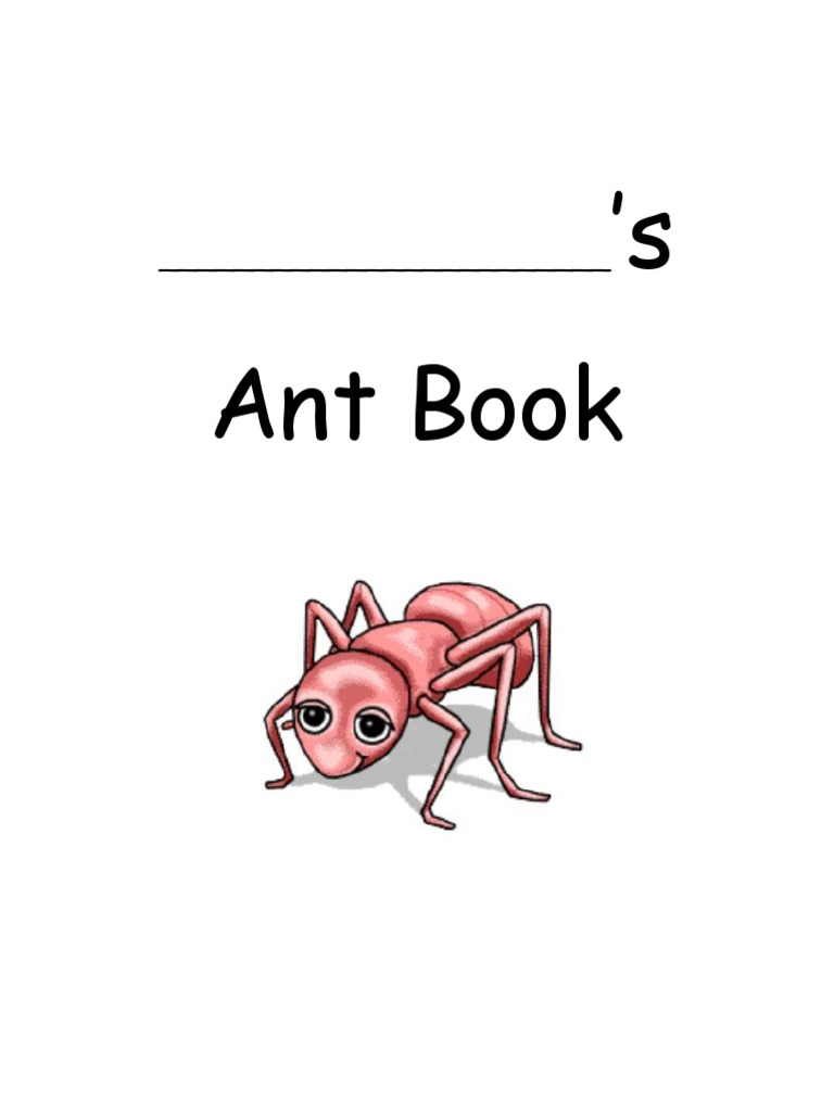 Ant Observation Journal