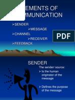 Five Elements of Communication