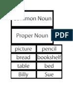 La 31 Common and Proper Nouns