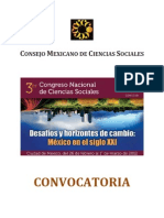 Convocatoria III Congreso de CS