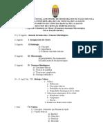 Programa de Clases III 20111