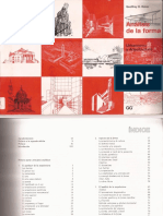 Análisis de La Forma Urbanismo y Arquitectura-Indice