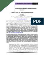 Individual Liberty and Tax Limits