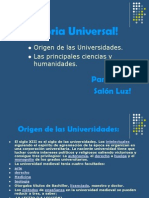 Historia Universal!