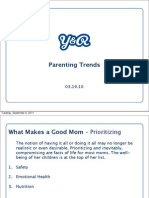Parenting Trends Summary