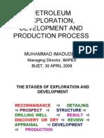 Petroleum Exploration Dev Elopement Production Process