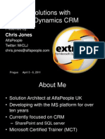 Extreme Crm 2011 Prague - Chris Jones - DeV003 Microsoft Dynamics CRM 2011 Whats New for Developers v2