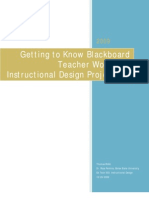 EDTECH 503 - Instructional Design Project 1