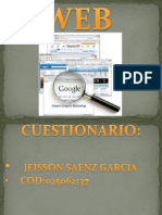 Jeisson Saenz Pagina Web