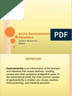 Acute Gastroenteritis for Pediatrics