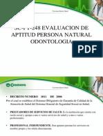Normatividad Actual Para Consultorios Odoligicos[1]