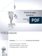 Point of Sale Systems Latest Products and Its Features