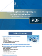 Cloud Computing in the Investment Industry