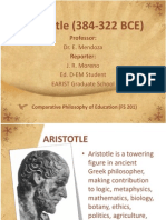 Aristotle (384-322 BCE) Report
