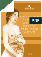 Plan Nacional Tv Vih y Sifilis 2007
