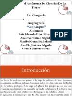Geoparques propuestos para Mexico