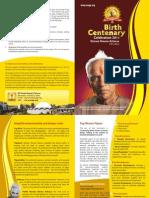 Brochure - Shriram Sharma Acharya (English)