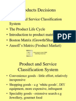 Product Decision
