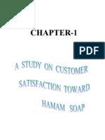 Project on Hamam Soap