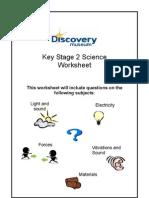 KS2 Science Worksheet