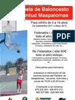 Escuela de Baloncesto Juventud Maspalomas