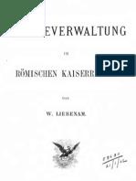 liebenam (1900) städteverwaltung im römischen kaiserreiche