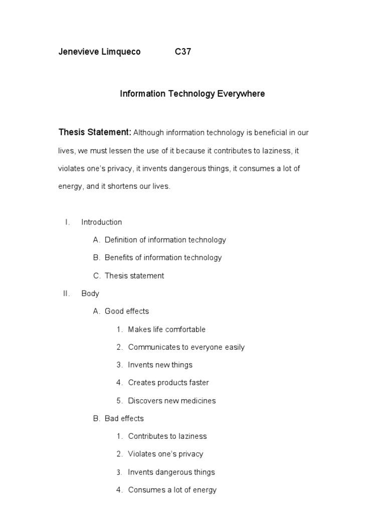 technology essay topics