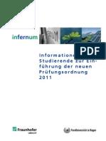 Infos Studierende Neue PO 2011