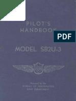 Pilot's Handbook Model SB2U-3 Vindicator