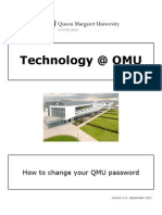 How to Change Your QMU Password v2