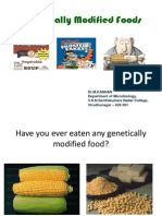 Genetically Modified Foods VVV