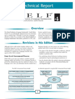 CELF 4 Tech Report