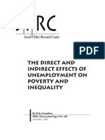 The Direct and Indirect Effects of Unemployment