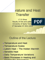 11. Temperature and Heat Transfer