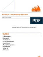 Map Print Module