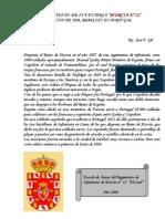 1808, Rebelion en Portugal de los regimientos de Murcia.