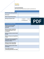 Penetration Tester Assessment Worksheet
