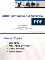 XBRL-IntroductionandOverview