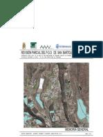 PGO SBT Montaña La Data - Tomo I - Memoria Avance