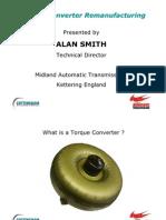 Torque Converter Re Manufacturing