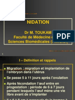 Nidation