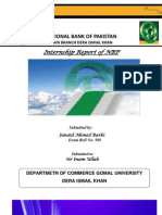 Intern Ship Report of Nbp (Juniad Barki)